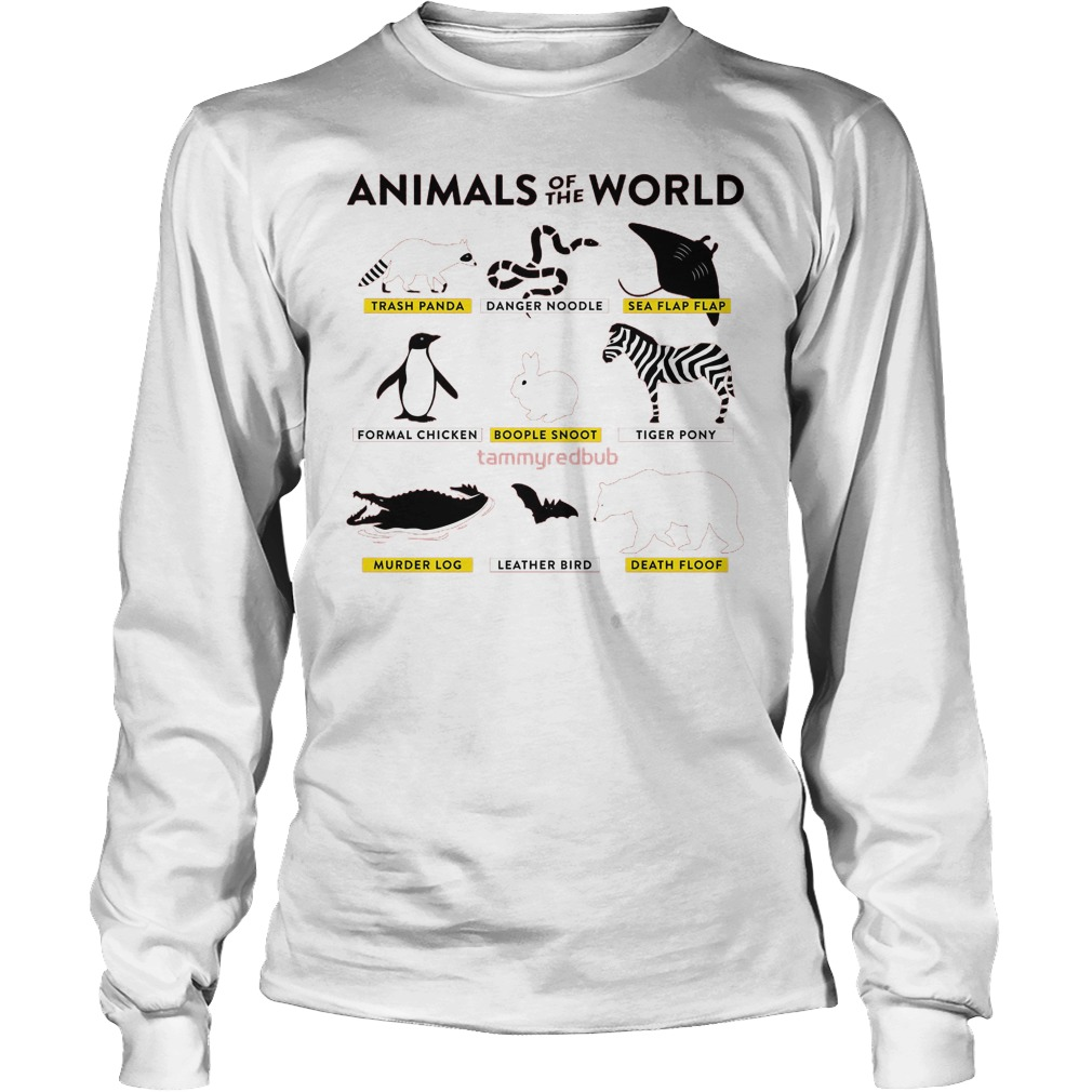 Animals Of The World Longsleeve