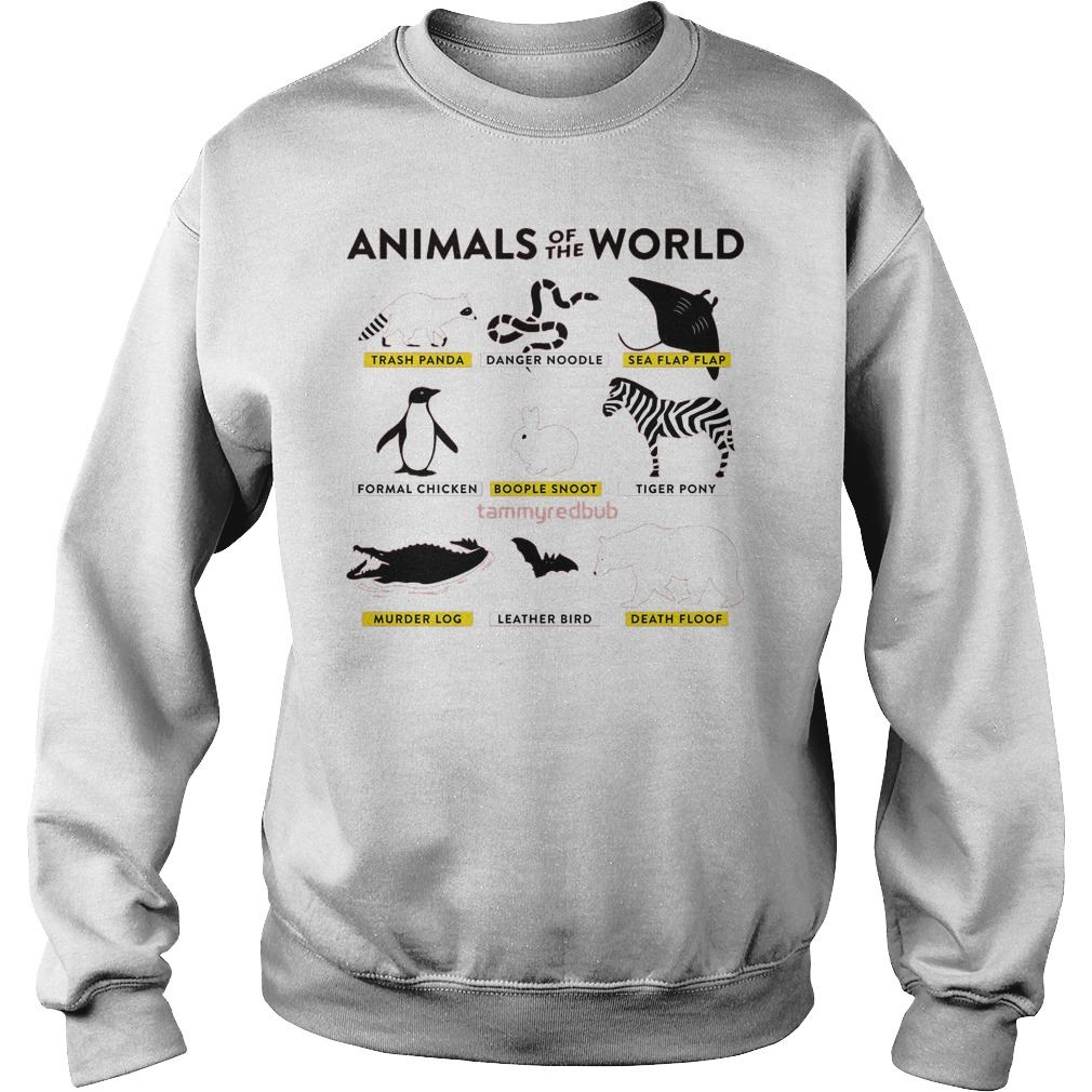 Animals Of The World Sweater