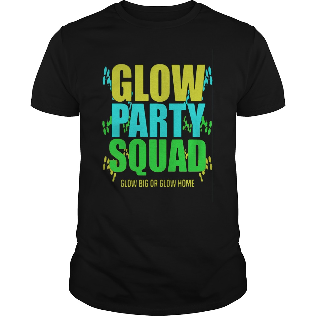 Glow Party Squad Guy Tee