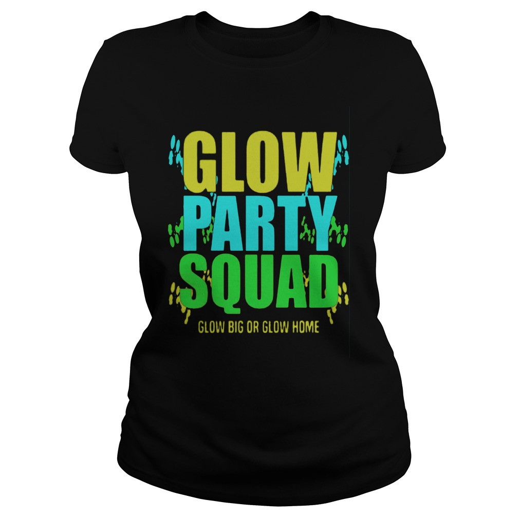 Glow Party Squad Ladie Tee
