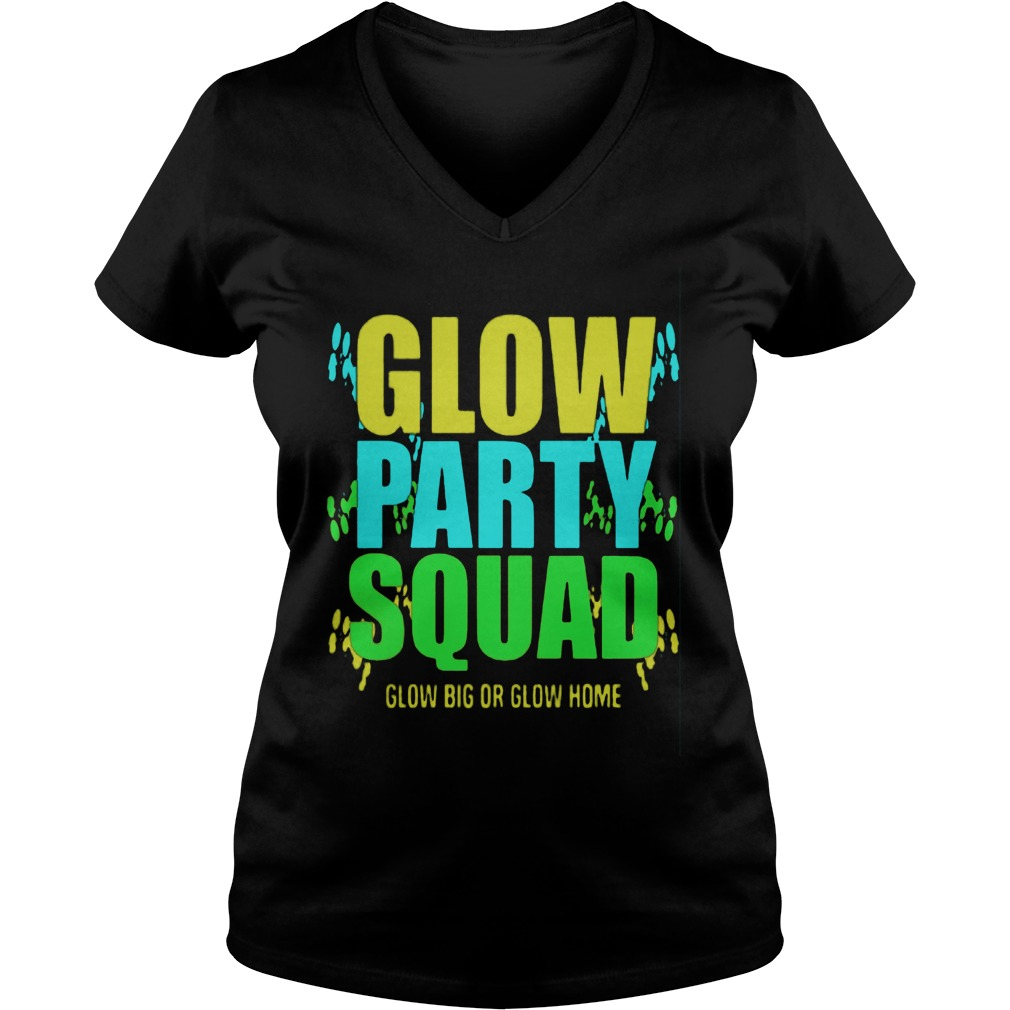 Glow Party Squad Ladie Vneck