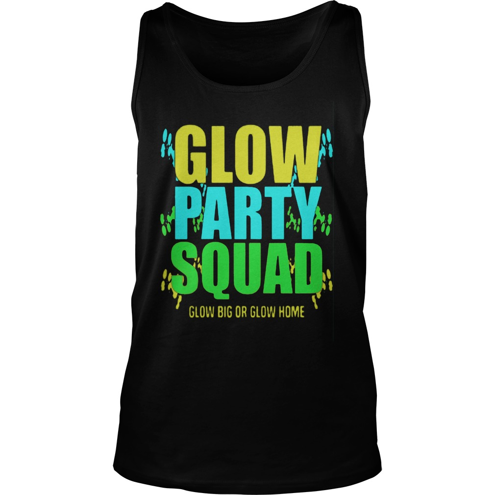 Glow Party Squad Tank Top