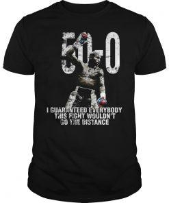 Mayweather 50 0 Guy Tee