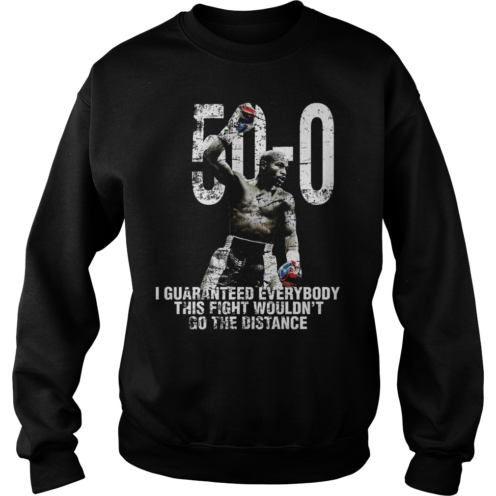 Mayweather 50 0 Sweater