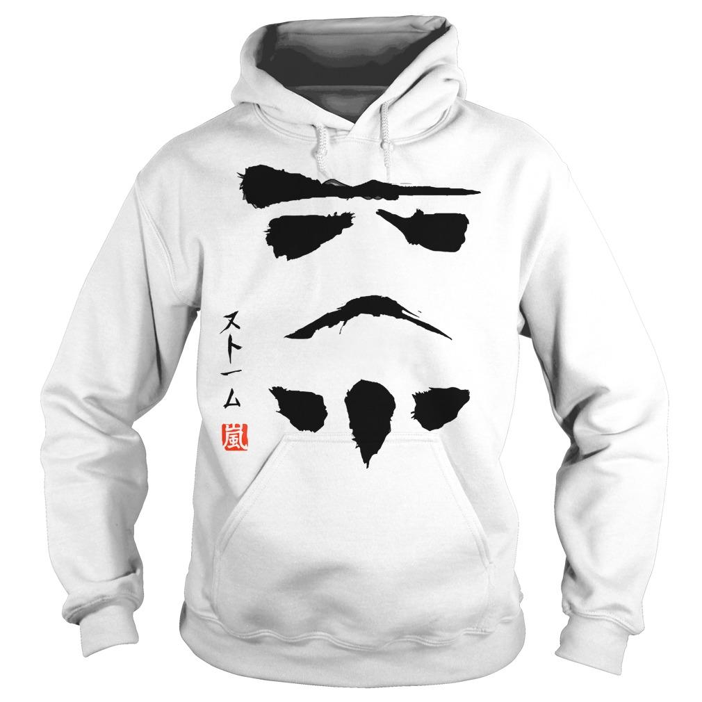 Star Wars White Hoodie