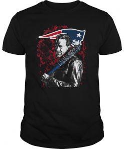 The Walking Dead Negan New England Patriots Shirt