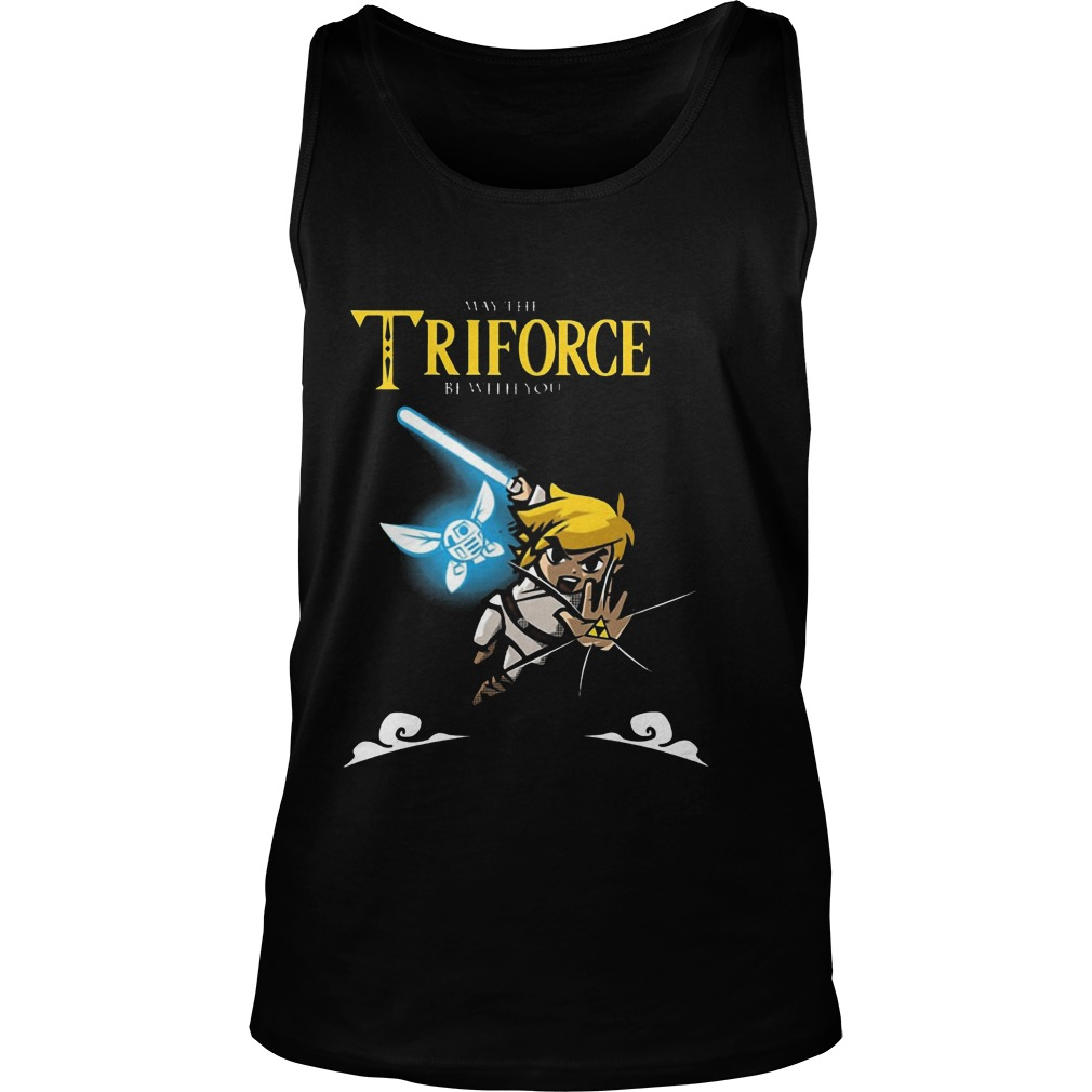 May The Triforce Be With You Tanktop