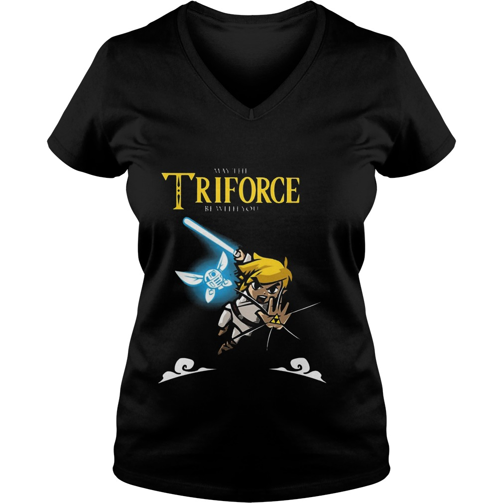 May The Triforce Be With You Vneck