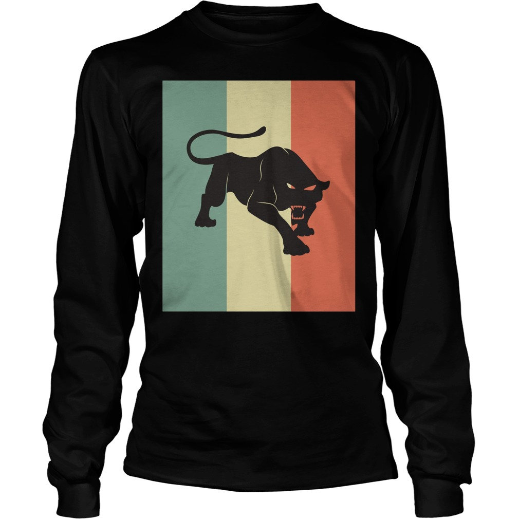 Black Panther Silhouette Longsleeve
