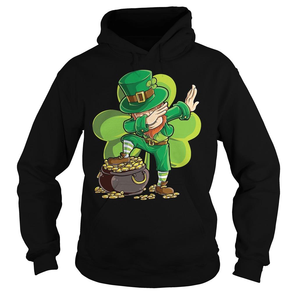 Dabbing Leprechaun St Patricks Day Hoodie