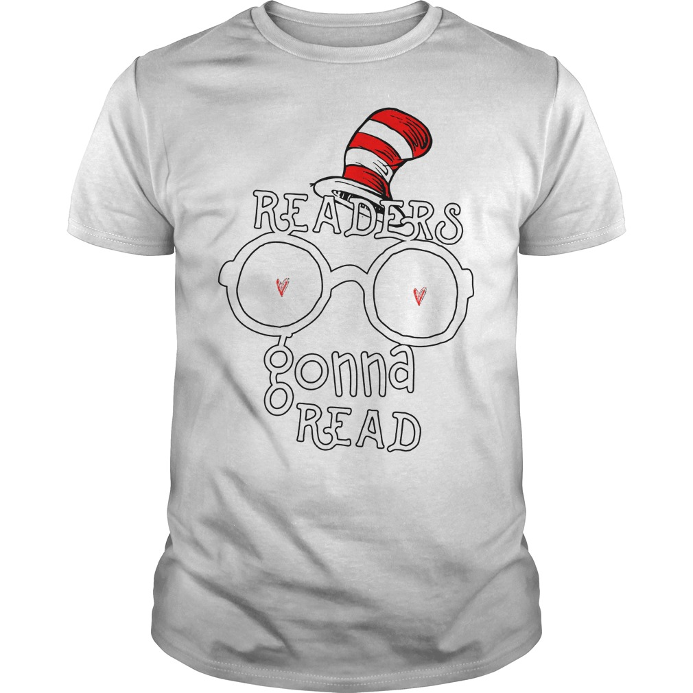 Dr Seuss Readers Gonna Read Teelove Reading Bookworm Shirt
