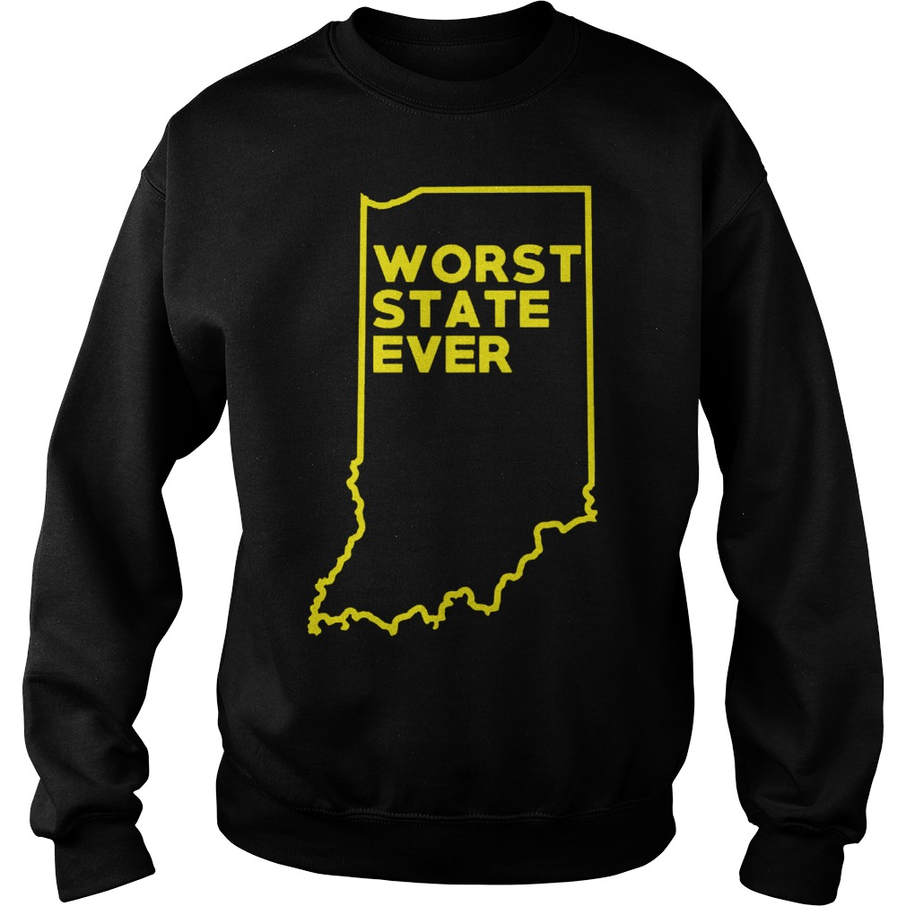 Indiana Worst State Ever Sweater