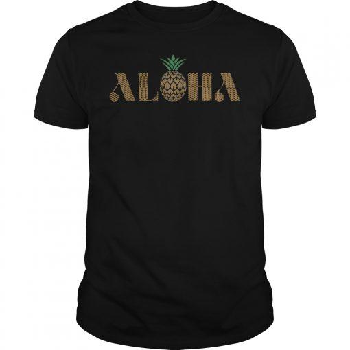 Vintage Aloha Pineapple Shirt