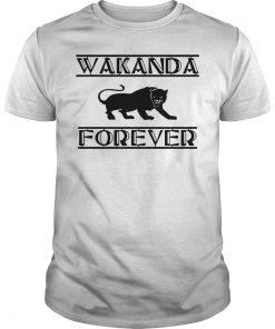 Wakanda Forever Black Panther Shirt