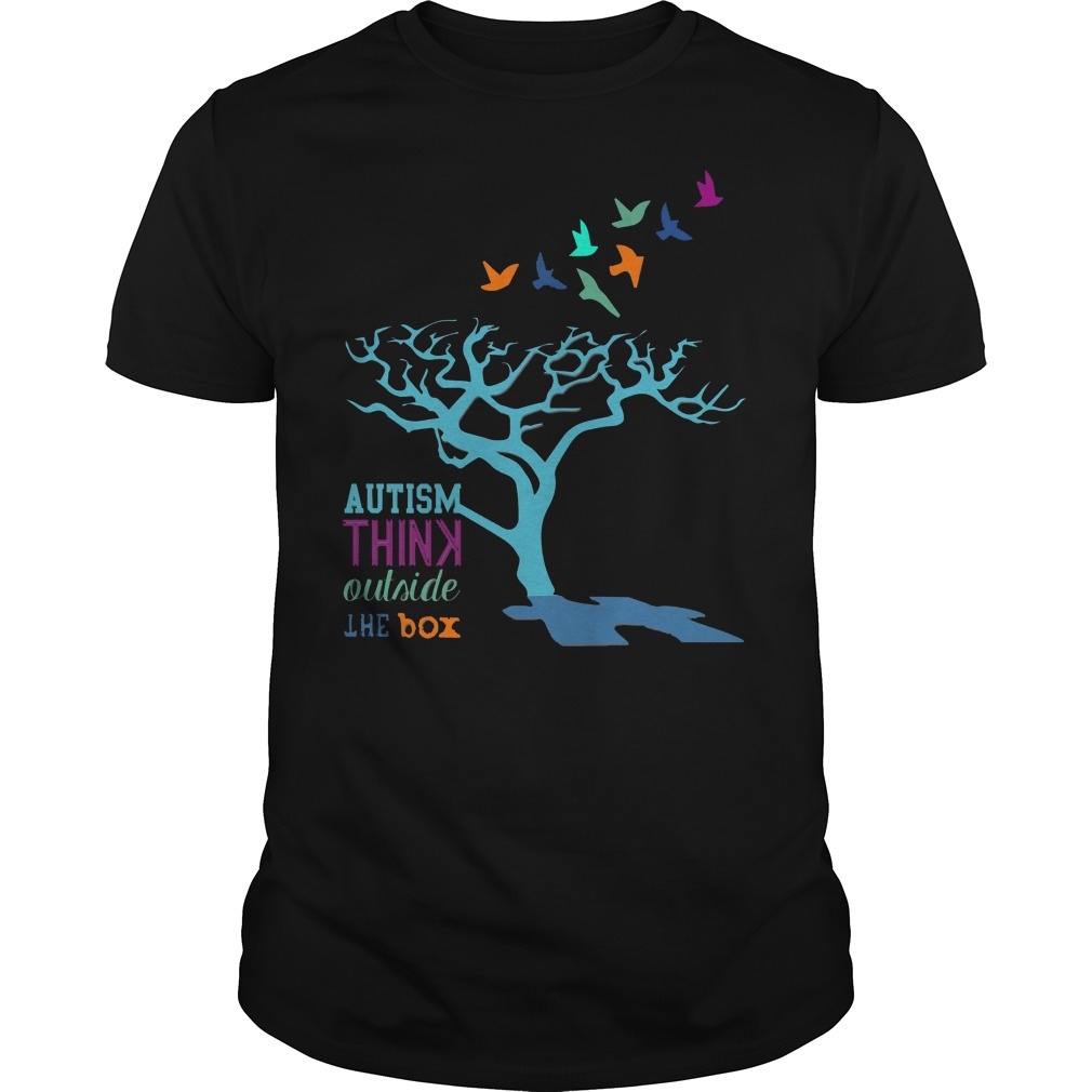 Autism Awareness Think Outside The Box Shirt