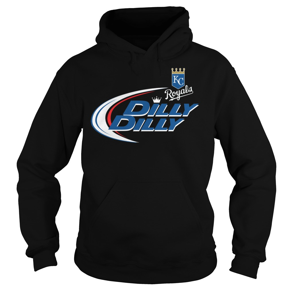 Baseball Mlb Kansas City Royals Dilly Dilly Hoodie
