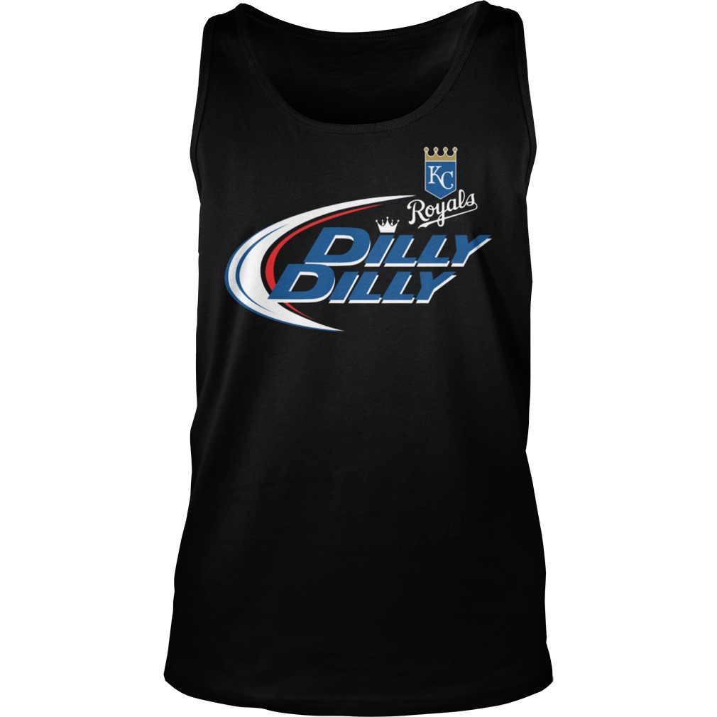 Baseball Mlb Kansas City Royals Dilly Dilly Tanktop