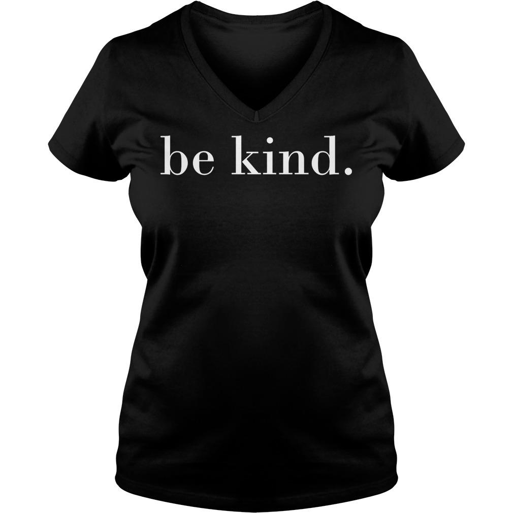 Be Kind Motivational Quotes V Neck