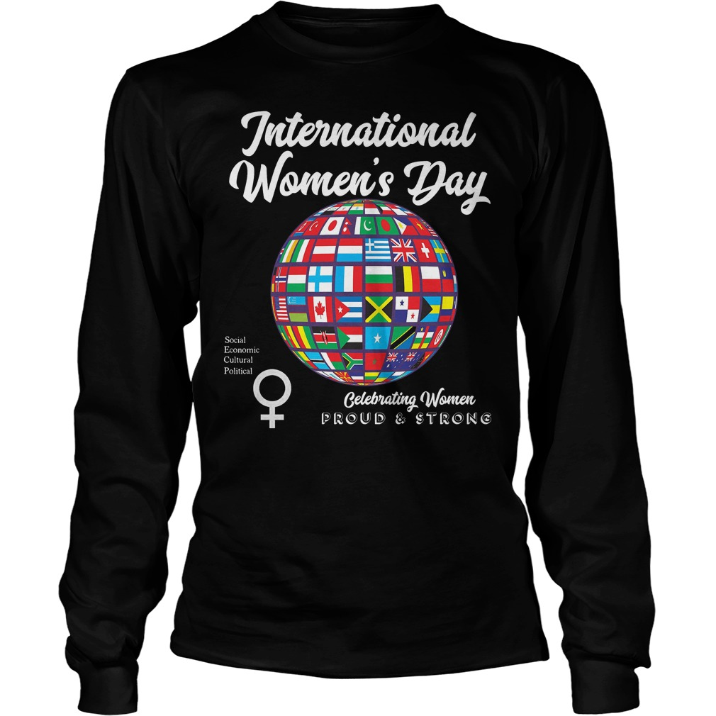 International Womens Day Proudstrong Longsleeve