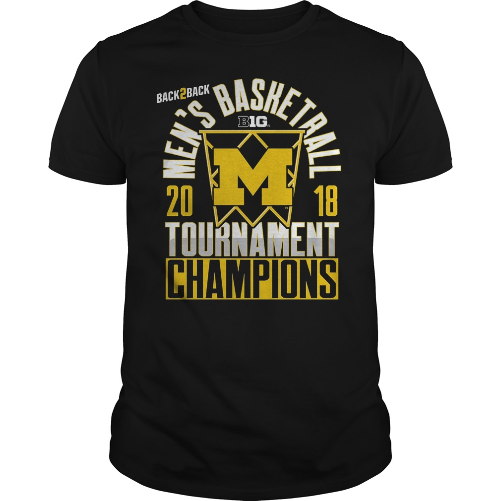 Michigan Big Ten Championship Mens Basketball Tournament Champions Shirt