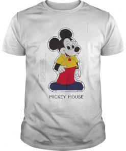 Mickey Mouse Paper Doll Shirt