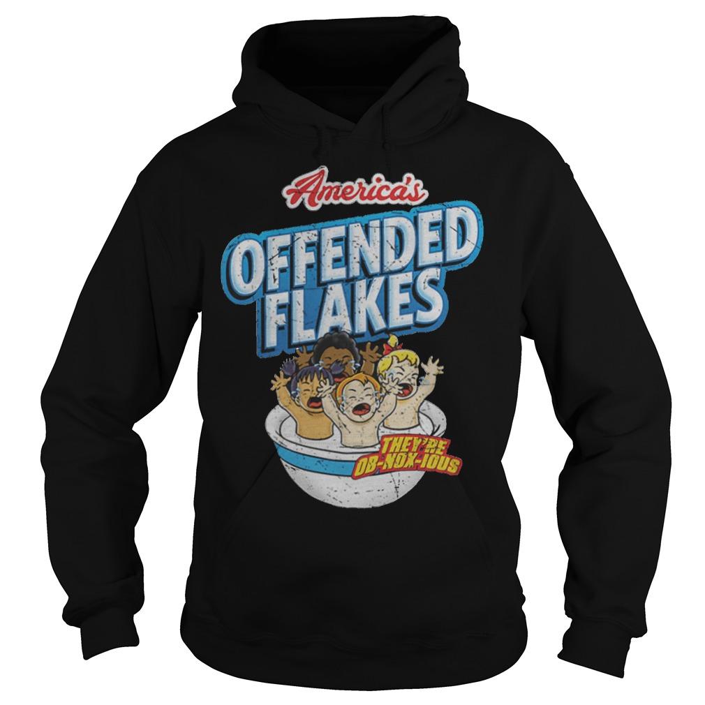 Offended Flakes Snowflake Hoodie
