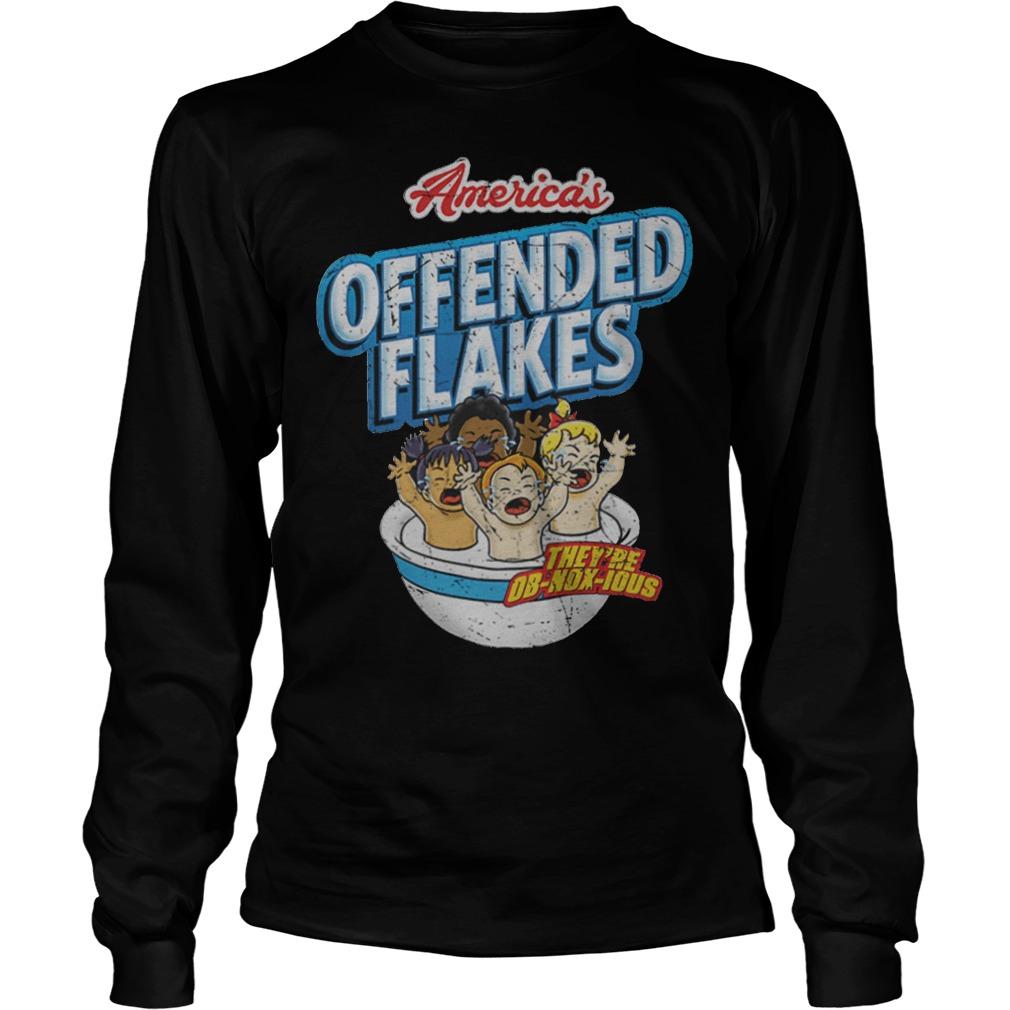 Offended Flakes Snowflake Longsleeve