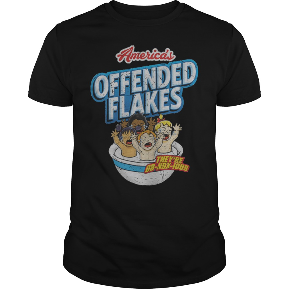 Offended Flakes Snowflake Shirt