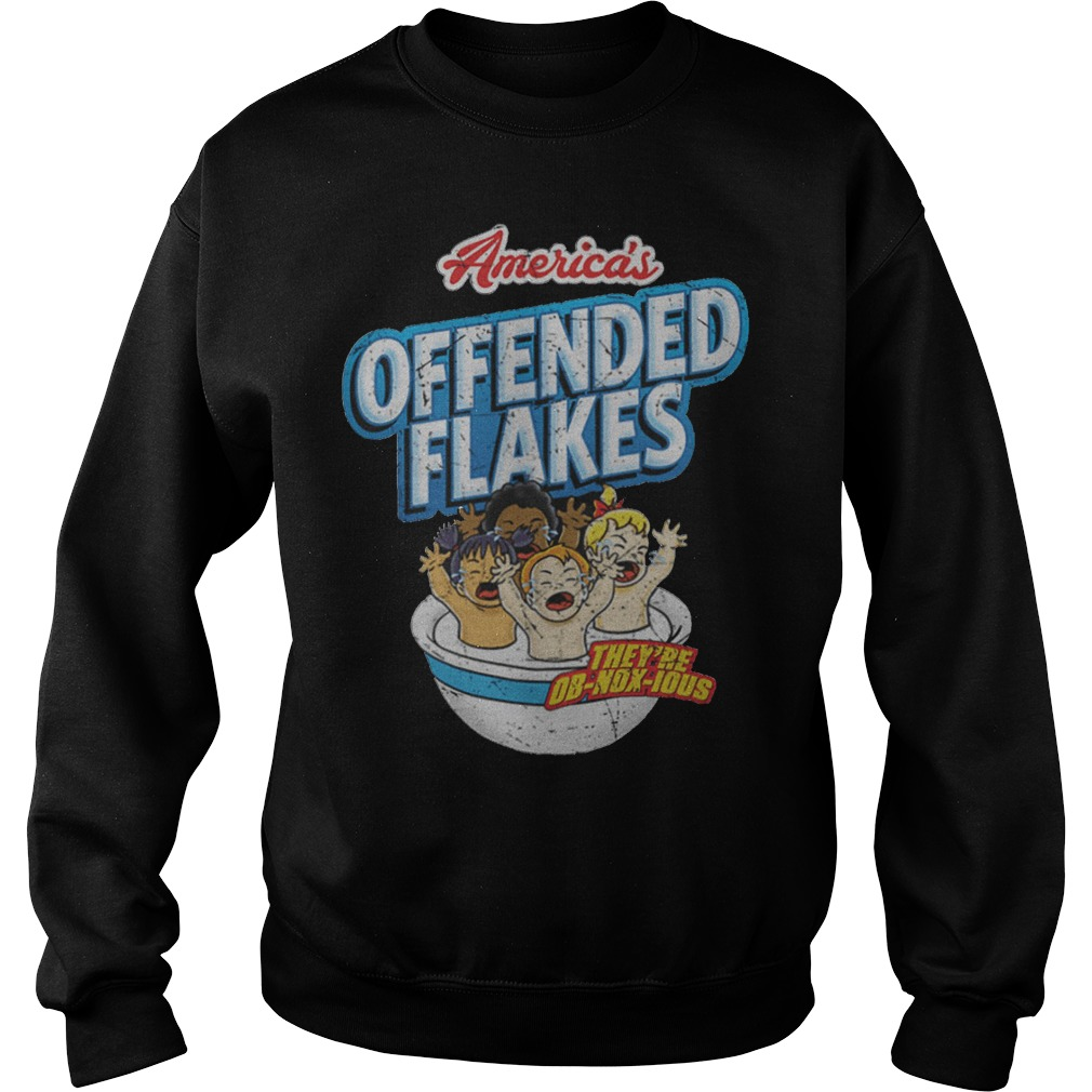 Offended Flakes Snowflake Sweater