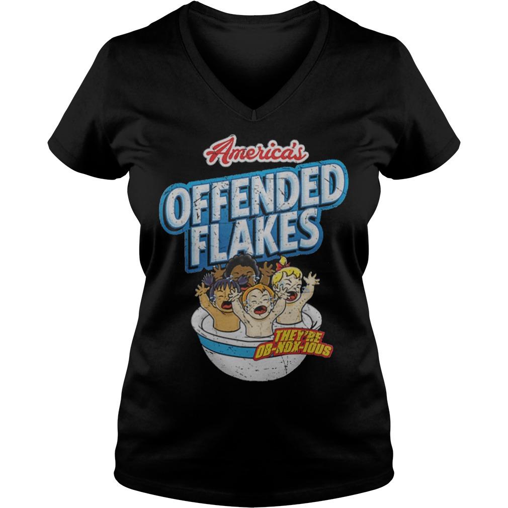 Offended Flakes Snowflake V Neck