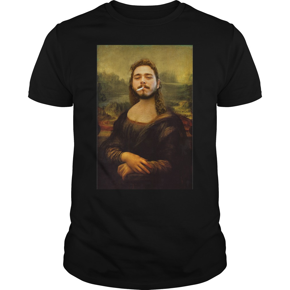 Post Monalone Mona Lisa Shirt