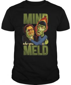 Stephen Hawking Mind Who You Meld Shirt