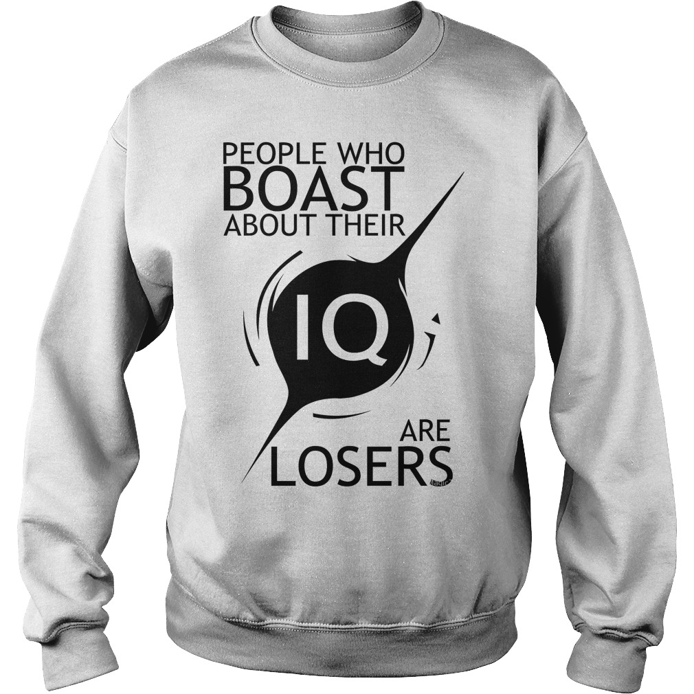 Stephen Hawking Quotes People Who Boast About Their Iq Are Losers Sweater