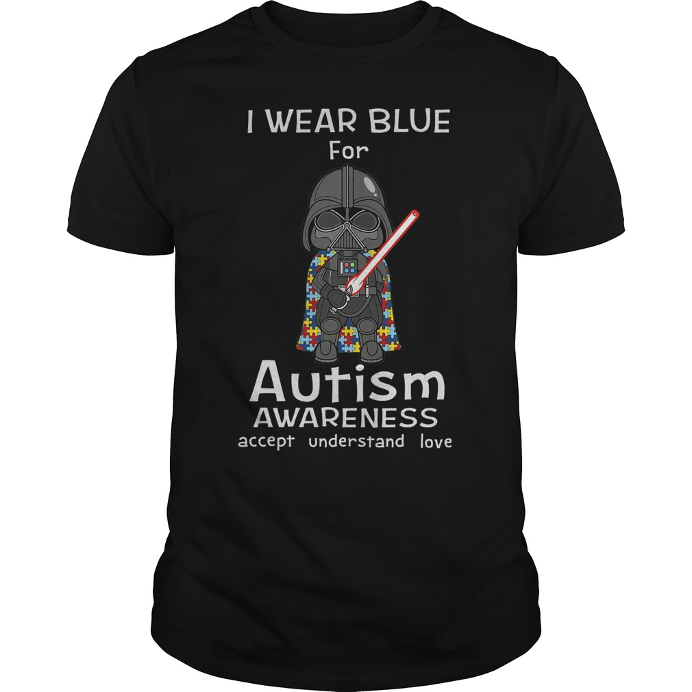 Stormtroopers I Wear Blue For Autism Shirt