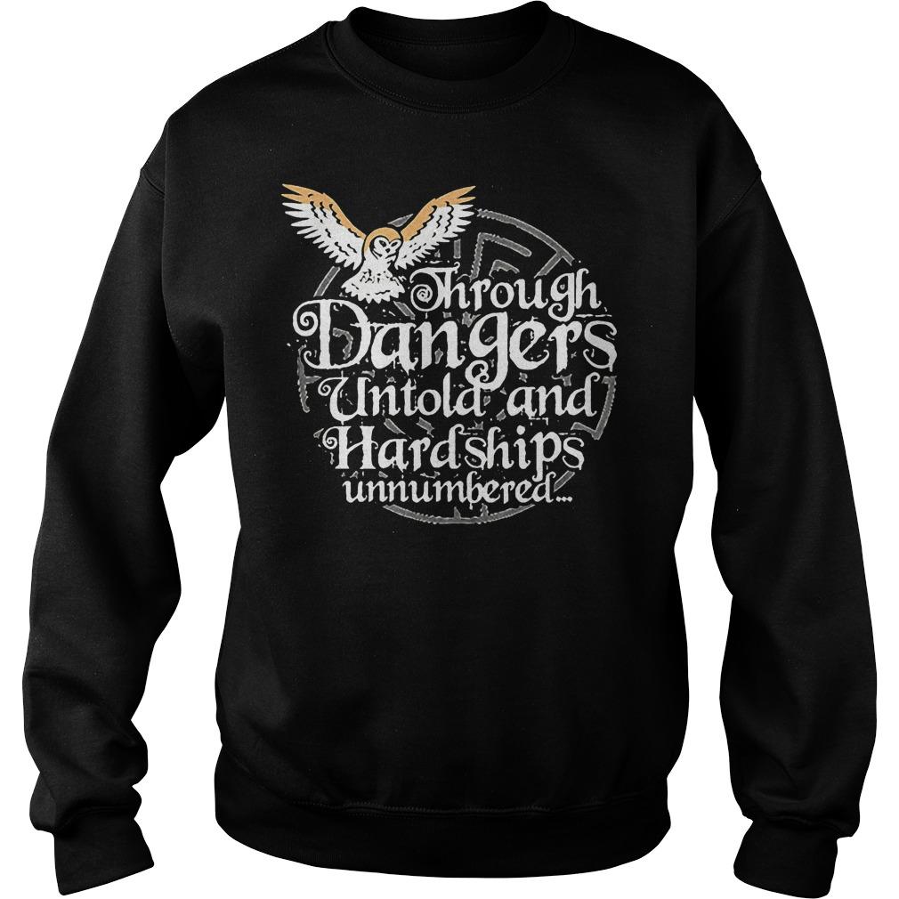 Through Danger Untol And Hardships Unnumbered Sweater
