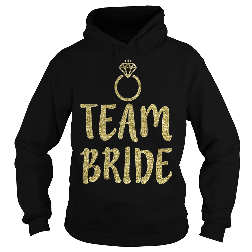 Team Bride Bachelorette Party Matching Hoodie