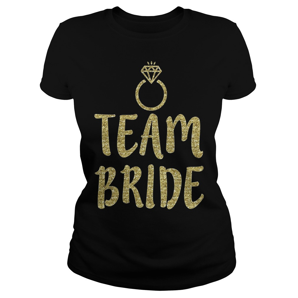 Team Bride Bachelorette Party Matching Ladies