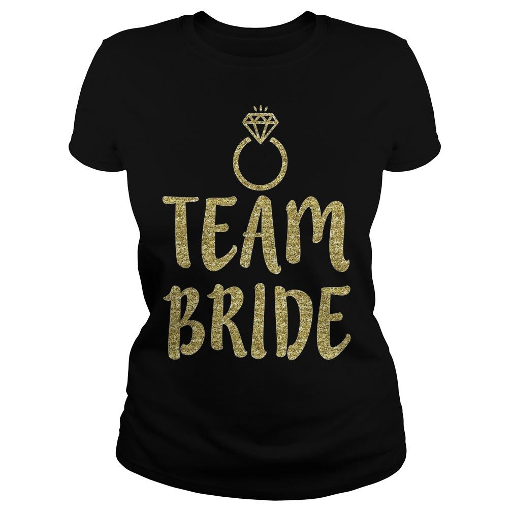 Team Bride Bachelorette Party Matching Ladies
