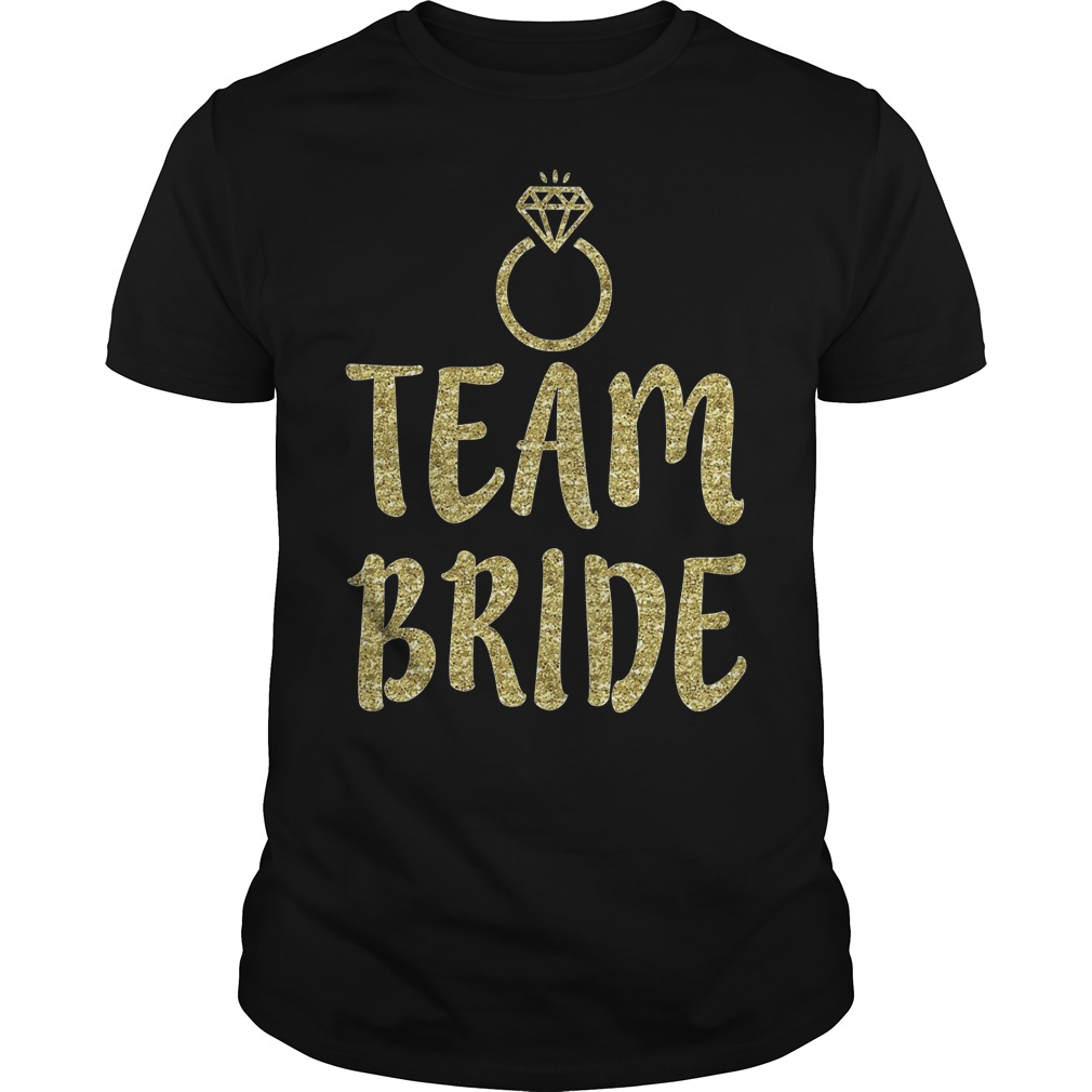 Team Bride Bachelorette Party Matching Shirt