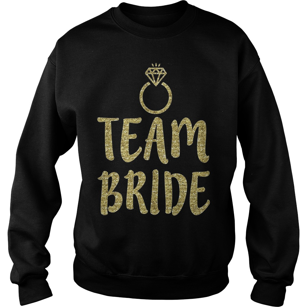 Team Bride Bachelorette Party Matching Sweater