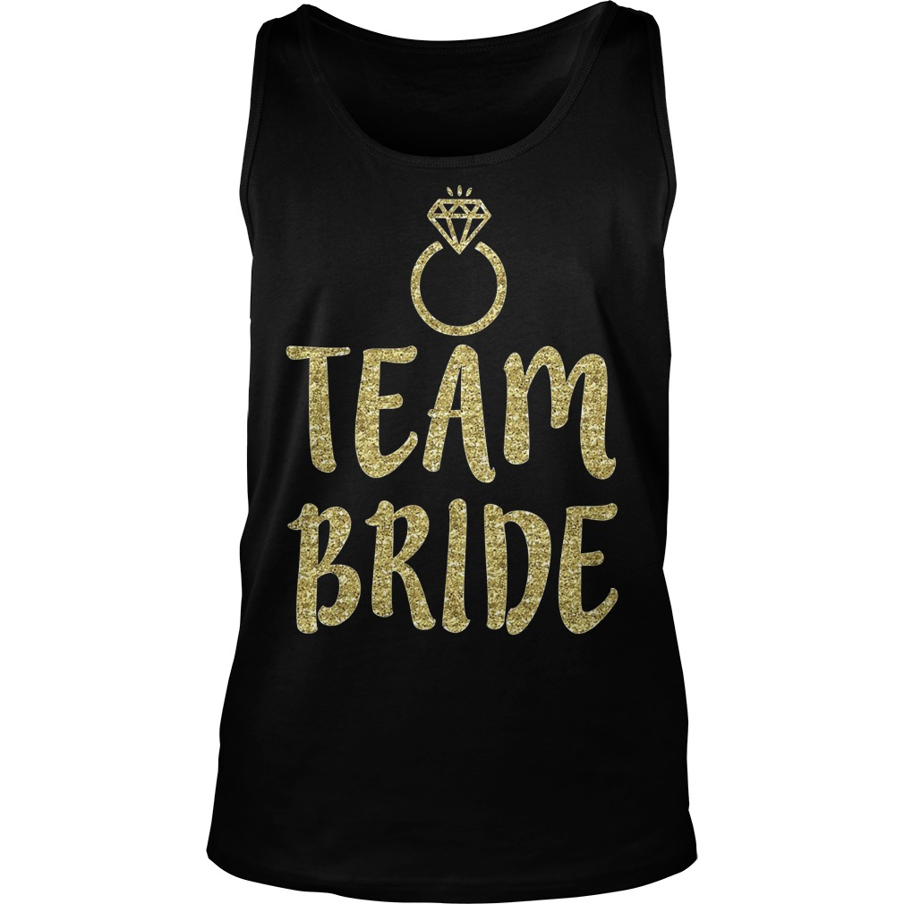 Team Bride Bachelorette Party Matching Tanktop