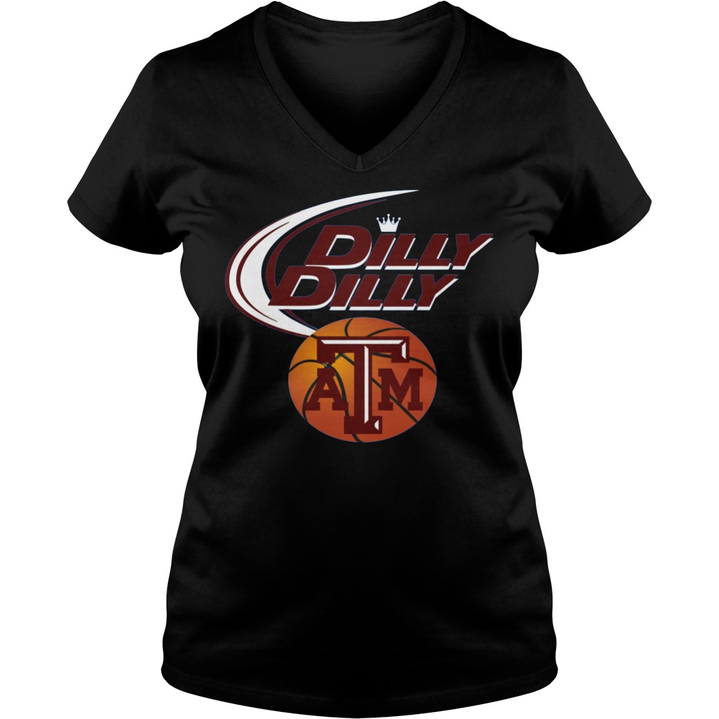 Texas A&m Aggies Dilly Dilly V Neck