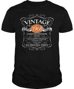 Vintage 50th Year Birthday Genuine 1968 Series Shirt