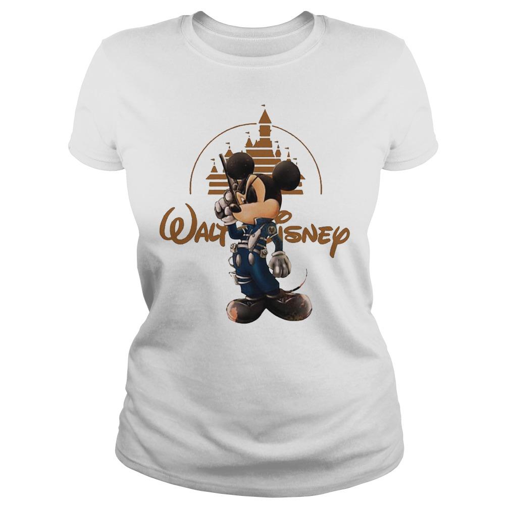 Walt Disney Misckey Mouse Captain Ladies
