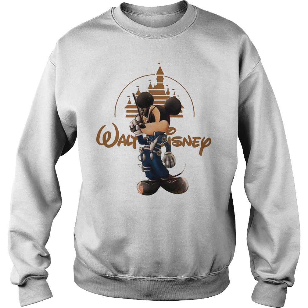 Walt Disney Misckey Mouse Captain Sweater