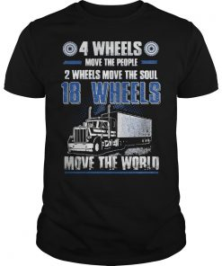 4 Wheels Move The People 2 Wheels Move The Soul Shirt