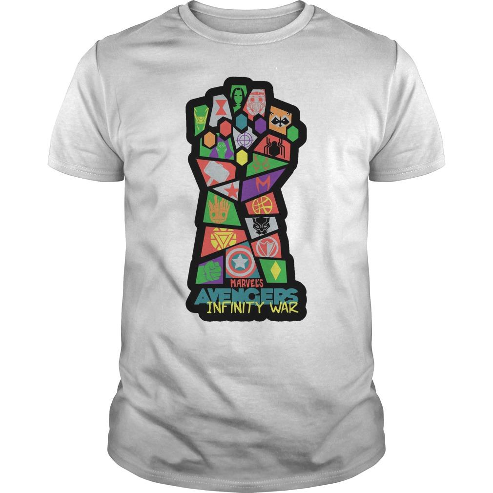 Avengers Infinity War Pop Art Shirt