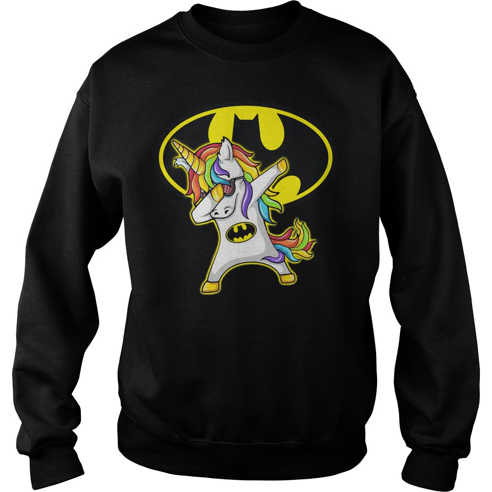 Batman Unicorn Dabbing Sweater