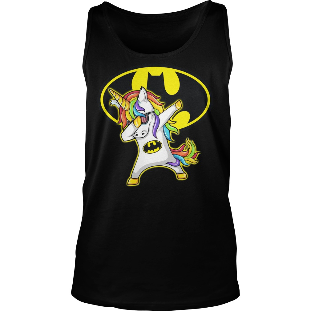 Batman Unicorn Dabbing Tanktop