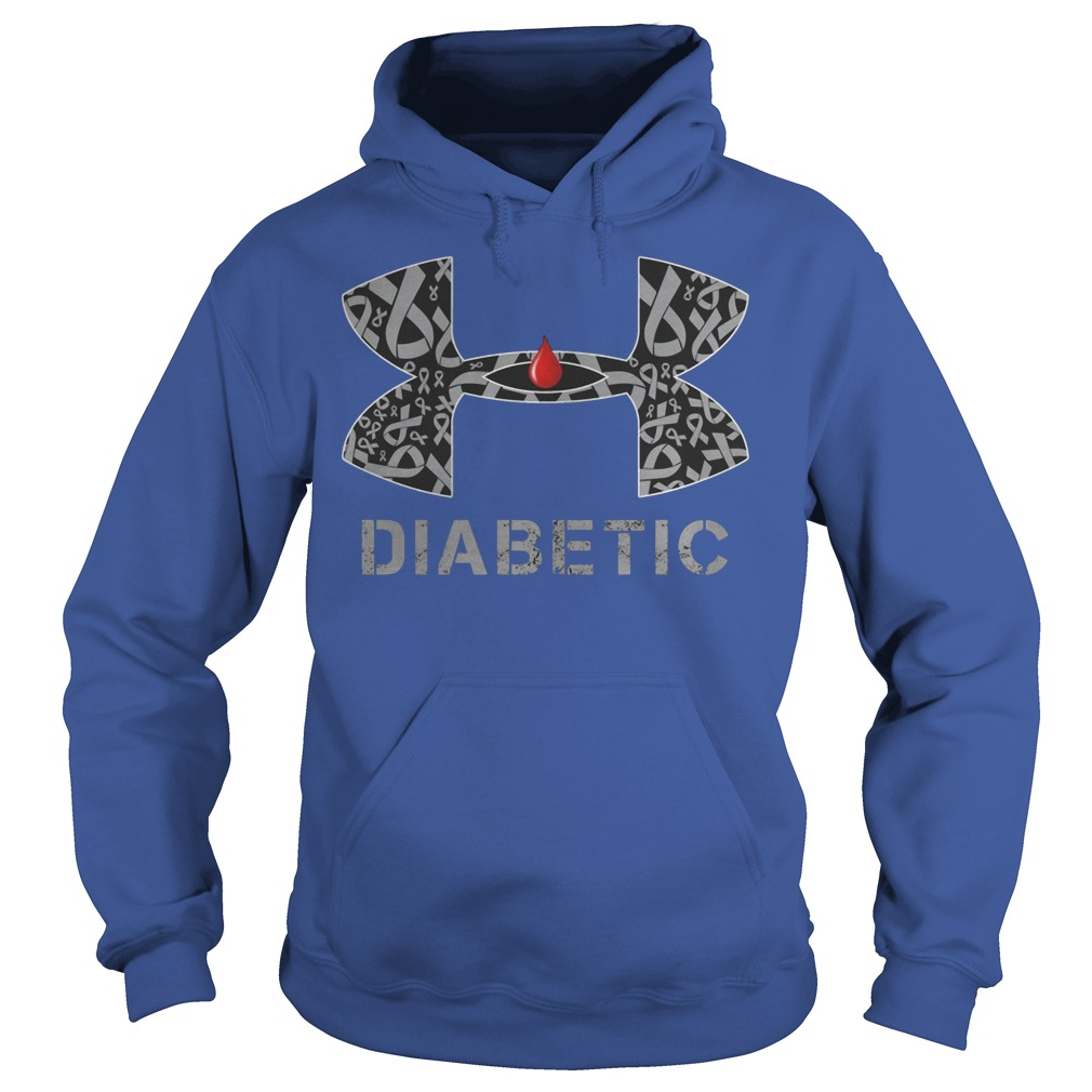 Cancer Diabetic Under Armour Hoodie